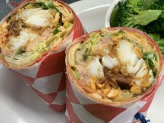 SPICY HADDOCK WRAP